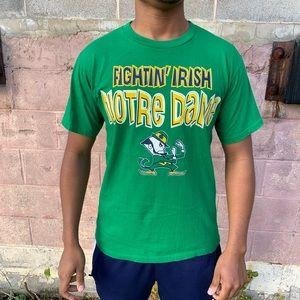 Vintage 90s Norte Dame Fighting Irish t-shirt